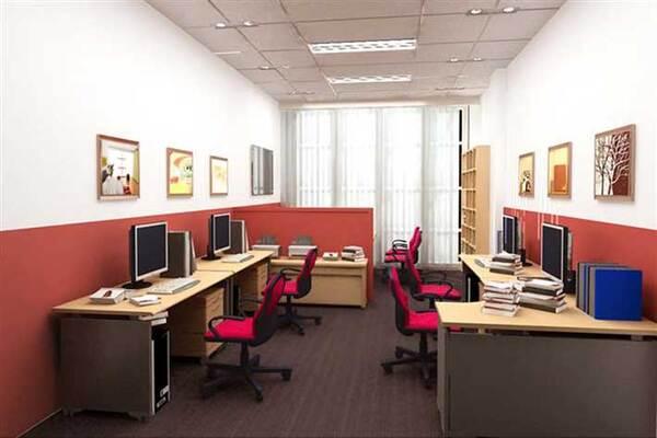 Bạn có thể tối ưu mặt bằng, tiết kiệm và sử dụng cơ động diện tích văn phòng bằng cách bố trí hợp lý