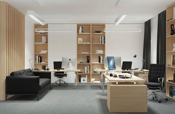 Màu sắc trong văn phòng cũng là một yếu tố quan trọng mà bạn cần chú ý khi thiết kế