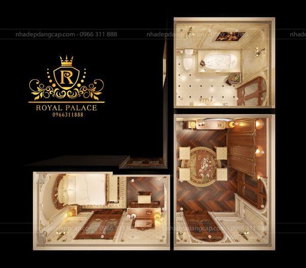 Royal Palace đã đem đến nhiều công trình giá trị vừa có tính thẩm mỹ cao, vừa mang lại công năng tối ưu