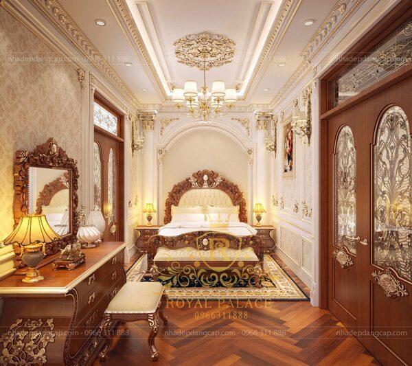 Kích thước phòng ngủ rộng tối đa mà kiến trúc sư gợi ý đó là khoảng 20 – 25m2