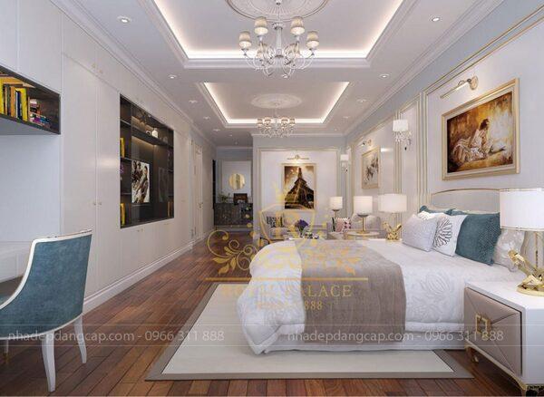 Một số kích thước giường ngủ thích hợp chẳng hạn như 1,8x2m, 1,6x2m, giường 1,2m,…