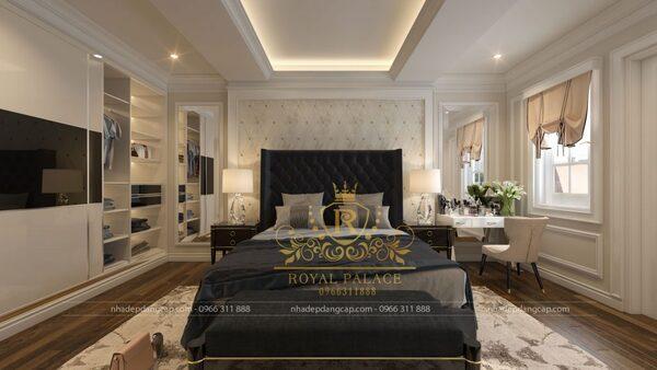 Phong cách tân cổ điển tạo nên một không gian sống cao cấp, tiện nghi