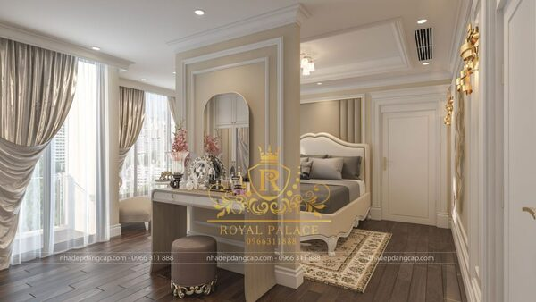 Phòng ngủ người lớn sang trọng, ấm cúng với những món nội thất đầy sự tinh tế