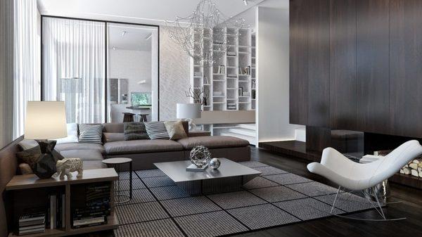 Không gian sang trọng với lối thiết kế hiện đại, toát lên sự tinh tế và ấm cúng
