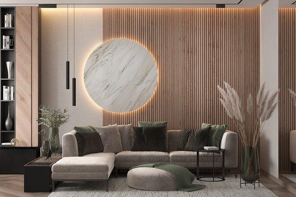 Thiết kế phòng khách mới lạ với những vật dụng trang trí đơn giản