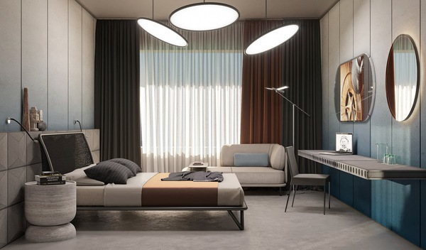 Vật liệu sử dụng cho phong cách nội thất hiện đại rất đa dạng