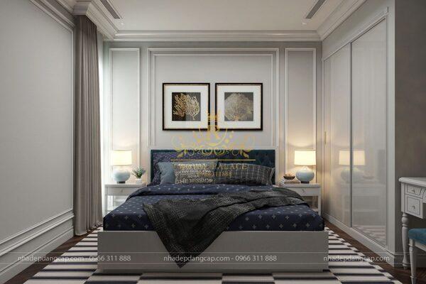 Phòng ngủ nhỏ cần tận dụng diện tích tối đa để bố trí nội thất