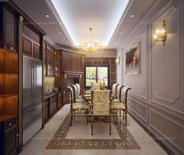 Mẫu phòng bếp đơn giản cho nhà chung cư