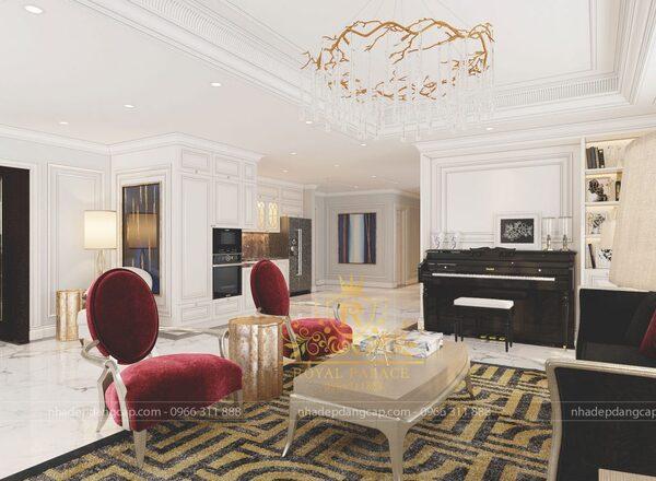 Để có diện tích phòng khách tiêu chuẩn thì cần phải biết diện tích chính xác mặt sàn của ngôi nhà là bao nhiêu