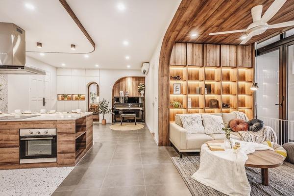 Phong cách công nghiệp mới lạ đem đến tính thẩm mỹ cao cho ngôi nhà