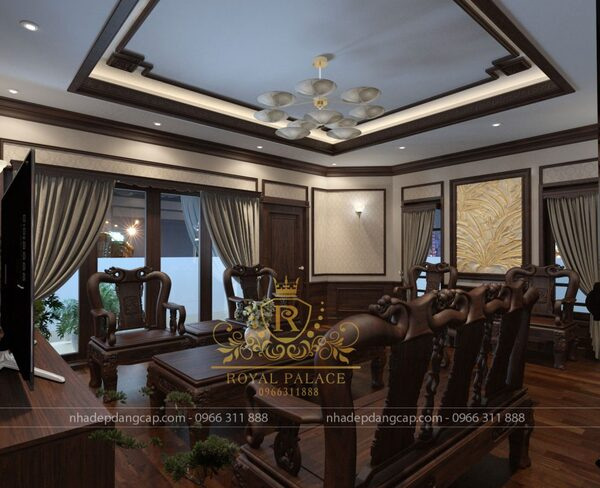 Phòng khách theo phong cách thiết kế hiện đại
