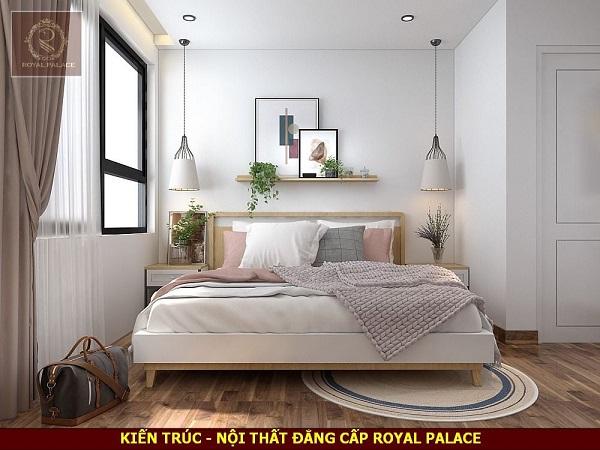 Phòng ngủ phong cách hiện đại dành cho bé gái