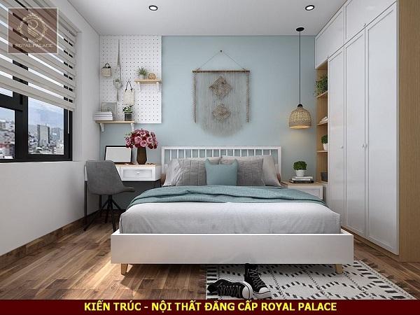 Phòng ngủ phong cách hiện đại dành cho bé trai